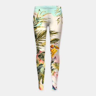 Landscapes of birds in paradise 2 Leggings para niña thumbnail image