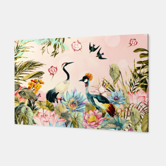 Landscapes of birds in paradise 2 Canvas thumbnail image