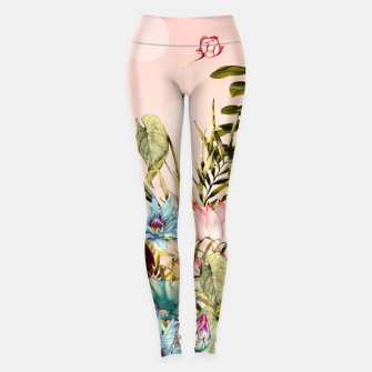 Landscapes of birds in paradise 2 Leggings thumbnail image