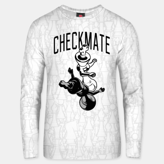 Thumbnail image of Checkmate Punch Funny Boxing Chess Cotton sweater, Live Heroes