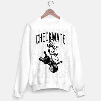 Thumbnail image of Checkmate Punch Funny Boxing Chess Sweater regular, Live Heroes