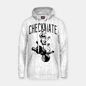Thumbnail image of Checkmate Punch Funny Boxing Chess Cotton hoodie, Live Heroes