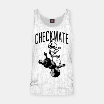 Thumbnail image of Checkmate Punch Funny Boxing Chess Tank Top, Live Heroes