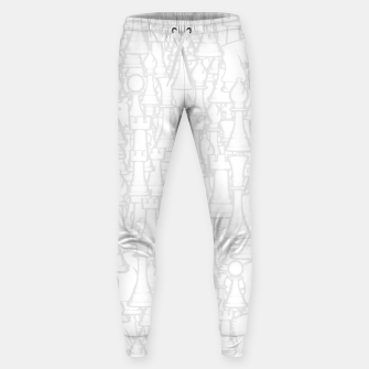 Thumbnail image of Checkmate Punch Funny Boxing Chess Cotton sweatpants, Live Heroes