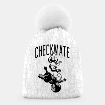Thumbnail image of Checkmate Punch Funny Boxing Chess Beanie, Live Heroes