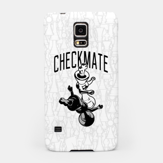 Thumbnail image of Checkmate Punch Funny Boxing Chess Samsung Case, Live Heroes