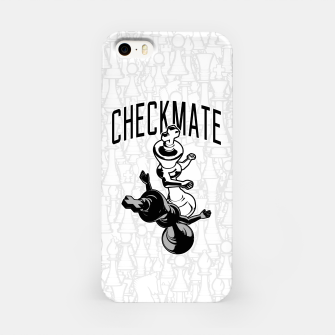 Thumbnail image of Checkmate Punch Funny Boxing Chess iPhone Case, Live Heroes