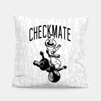 Thumbnail image of Checkmate Punch Funny Boxing Chess Pillow, Live Heroes