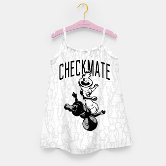 Thumbnail image of Checkmate Punch Funny Boxing Chess Girl's dress, Live Heroes