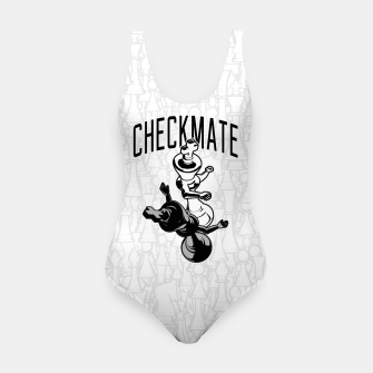 Thumbnail image of Checkmate Punch Funny Boxing Chess Swimsuit, Live Heroes