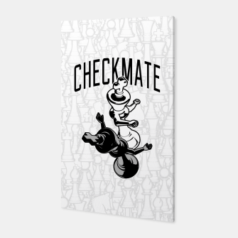Thumbnail image of Checkmate Punch Funny Boxing Chess Canvas, Live Heroes