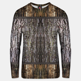 Thumbnail image of Abstract Wood Bark texture Cotton sweater, Live Heroes
