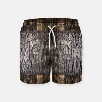 Thumbnail image of Abstract Wood Bark texture Swim Shorts, Live Heroes