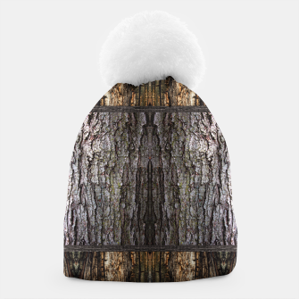 Thumbnail image of Abstract Wood Bark texture Beanie, Live Heroes