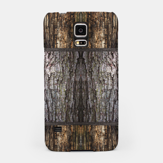 Thumbnail image of Abstract Wood Bark texture Samsung Case, Live Heroes