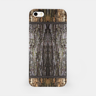 Thumbnail image of Abstract Wood Bark texture iPhone Case, Live Heroes