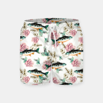 Thumbnail image of Fish in a sea of flowers Pantalones de baño, Live Heroes