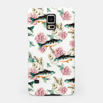 Thumbnail image of Fish in a sea of flowers Carcasa por Samsung, Live Heroes