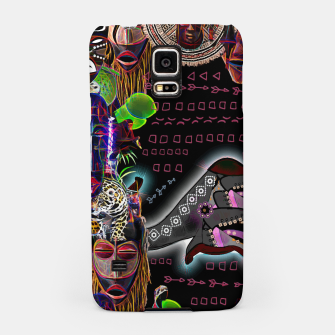 Thumbnail image of  Tribal mix Samsung Case, Live Heroes