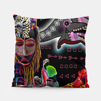 Thumbnail image of  Tribal mix Pillow, Live Heroes