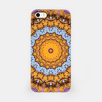 Miniatur Joyful Mandala iPhone Case, Live Heroes