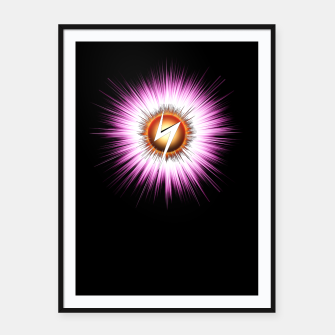 Thumbnail image of Starburst Z NTXT Framed poster, Live Heroes