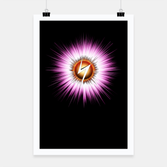 Thumbnail image of Starburst Z NTXT Poster, Live Heroes