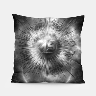 Thumbnail image of A-Synchronous Ethereal Clouds Pillow, Live Heroes