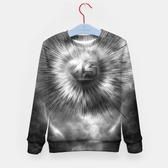 Thumbnail image of A-Synchronous Ethereal Clouds Kid's sweater, Live Heroes
