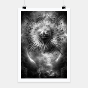Thumbnail image of A-Synchronous Ethereal Clouds Poster, Live Heroes
