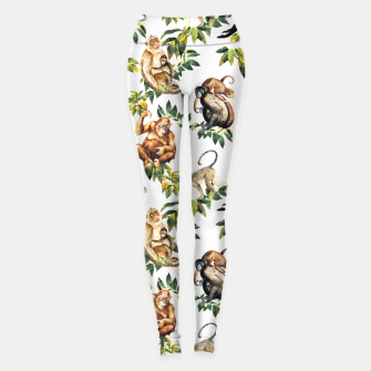 Monkeys, orangutans and more Leggings thumbnail image