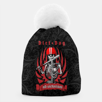 Thumbnail image of Dirt Dog Baseball Player Skeleton Beanie, Live Heroes