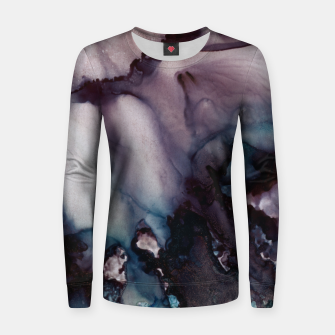 Thumbnail image of Vivid Abstract Woman cotton sweater, Live Heroes