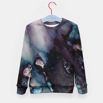 Thumbnail image of Vivid Abstract Kid's sweater, Live Heroes
