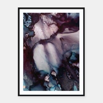 Thumbnail image of Vivid Abstract Framed poster, Live Heroes