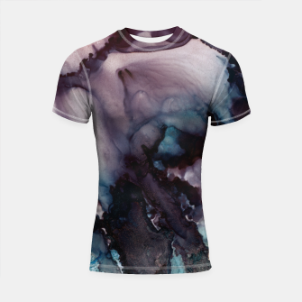 Thumbnail image of Vivid Abstract Shortsleeve rashguard, Live Heroes
