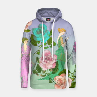 Thumbnail image of  Poetic Garden Cotton hoodie, Live Heroes