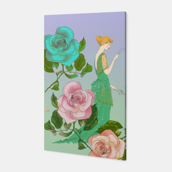 Thumbnail image of  Poetic Garden Canvas, Live Heroes