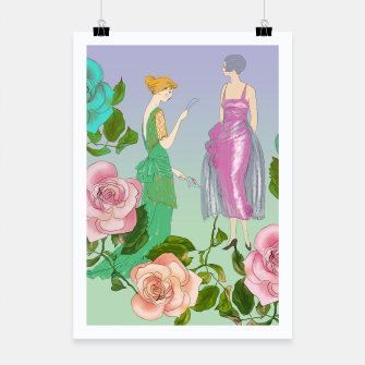 Thumbnail image of  Poetic Garden Poster, Live Heroes
