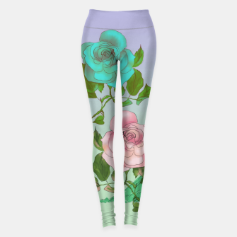 Thumbnail image of  Poetic Garden Leggings, Live Heroes