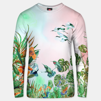 Thumbnail image of Birds in the paradise of the jungle Sudadera de algodón, Live Heroes