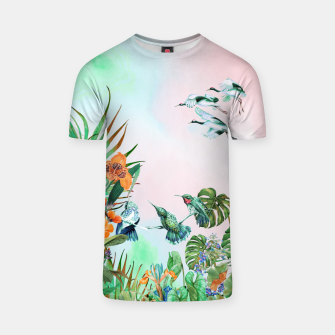 Thumbnail image of Birds in the paradise of the jungle Camiseta, Live Heroes
