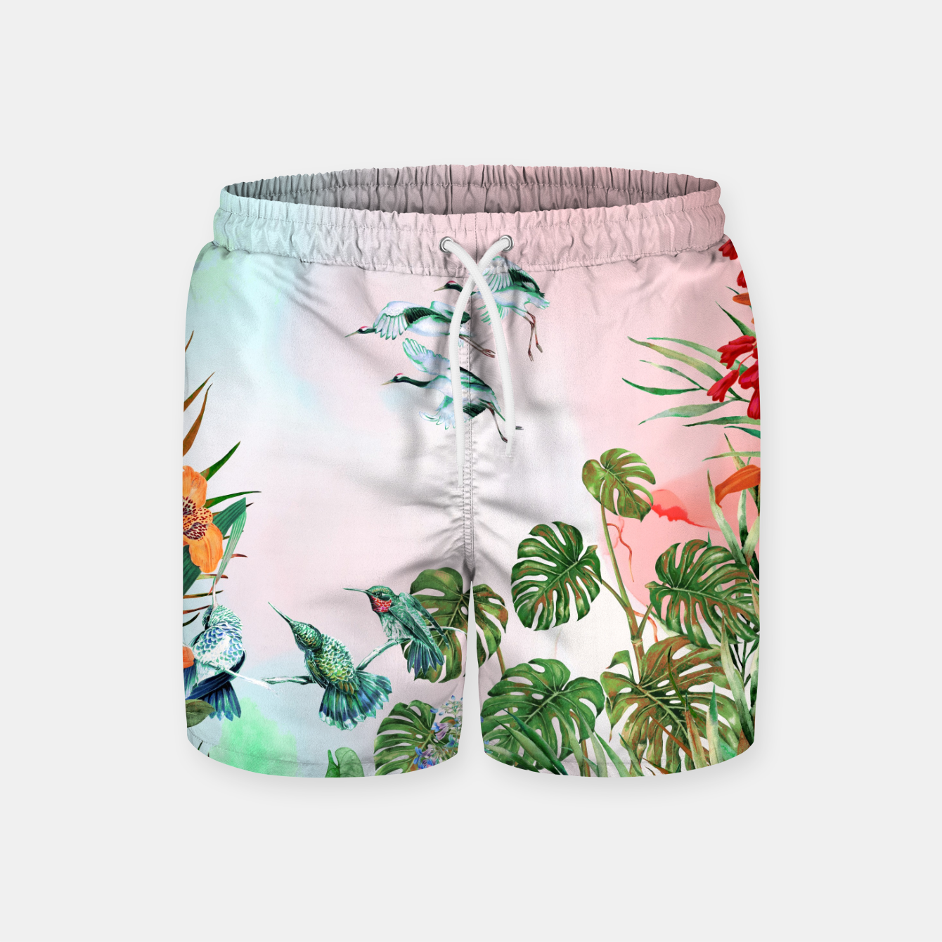 Image of Birds in the paradise of the jungle Pantalones de baño - Live Heroes
