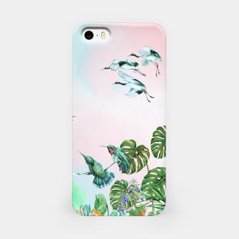 Thumbnail image of Birds in the paradise of the jungle Carcasa por Iphone, Live Heroes