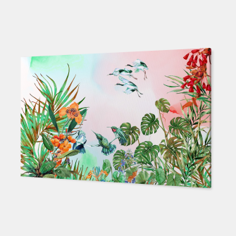 Thumbnail image of Birds in the paradise of the jungle Canvas, Live Heroes