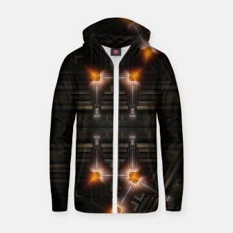 Thumbnail image of The Gate Of Arkrinon Cotton zip up hoodie, Live Heroes