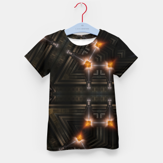 Thumbnail image of The Gate Of Arkrinon Kid's t-shirt, Live Heroes