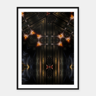 Thumbnail image of The Gate Of Arkrinon Framed poster, Live Heroes