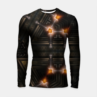The Gate Of Arkrinon Longsleeve rashguard