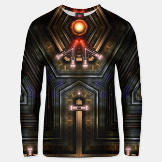 Thumbnail image of Orgatron Cotton sweater, Live Heroes